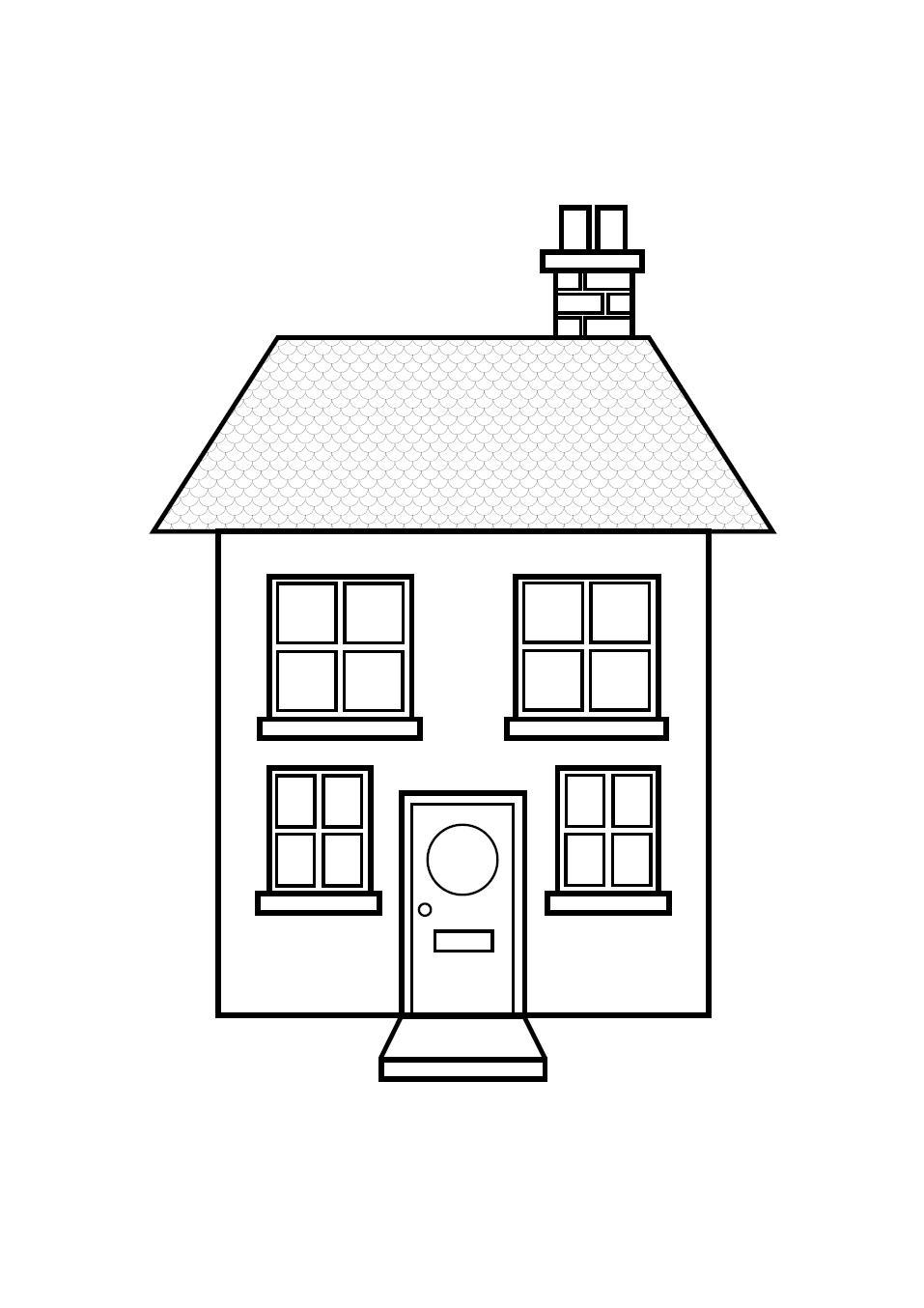 Domy I Mieszkania D Dom Mieszkanie Kolorowanka 51 Jpg
