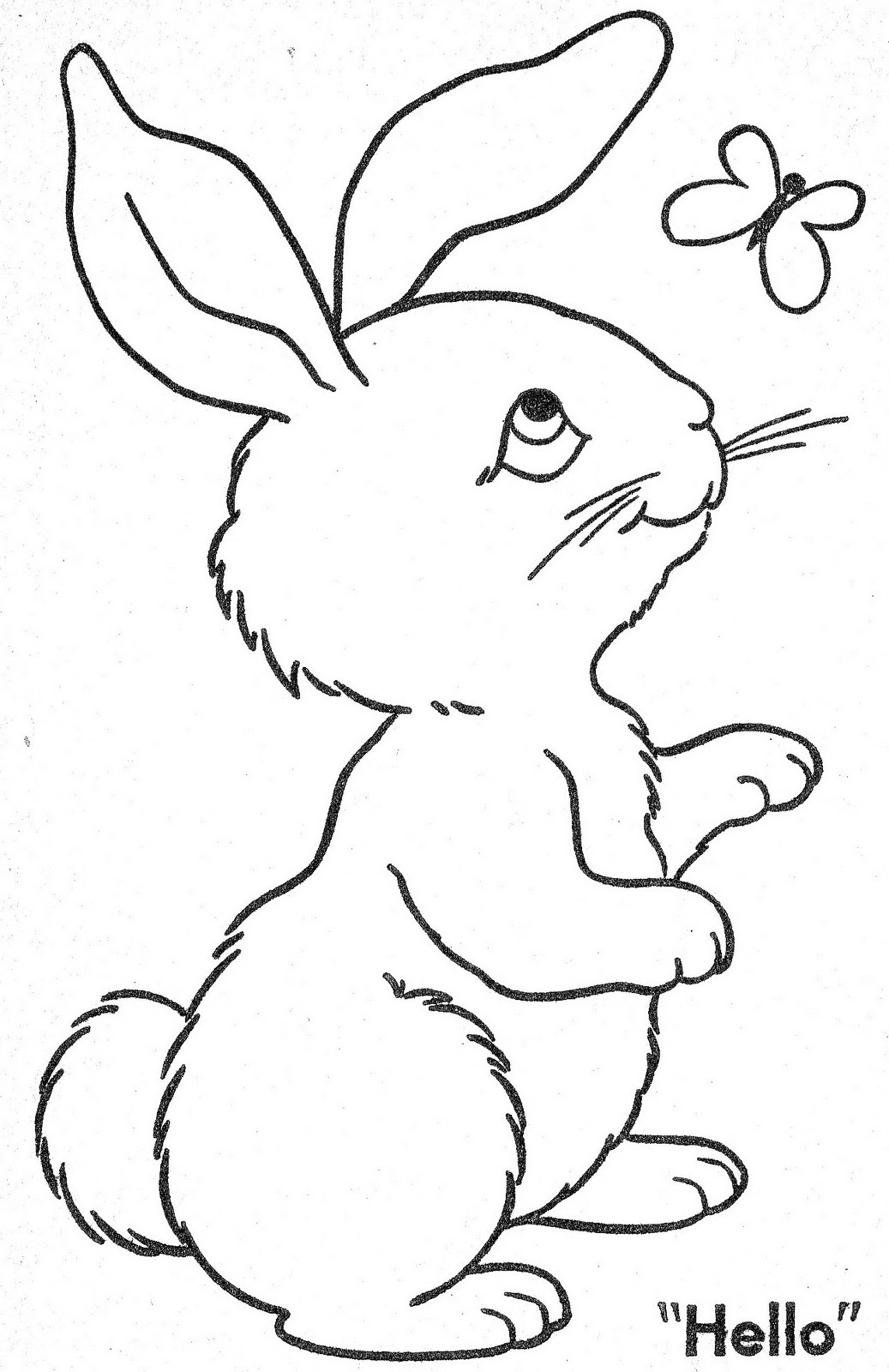 Kroliki I Zajace K Krolik Zajac Kolorowanka 62 Jpg Kolorowanki Do Druku